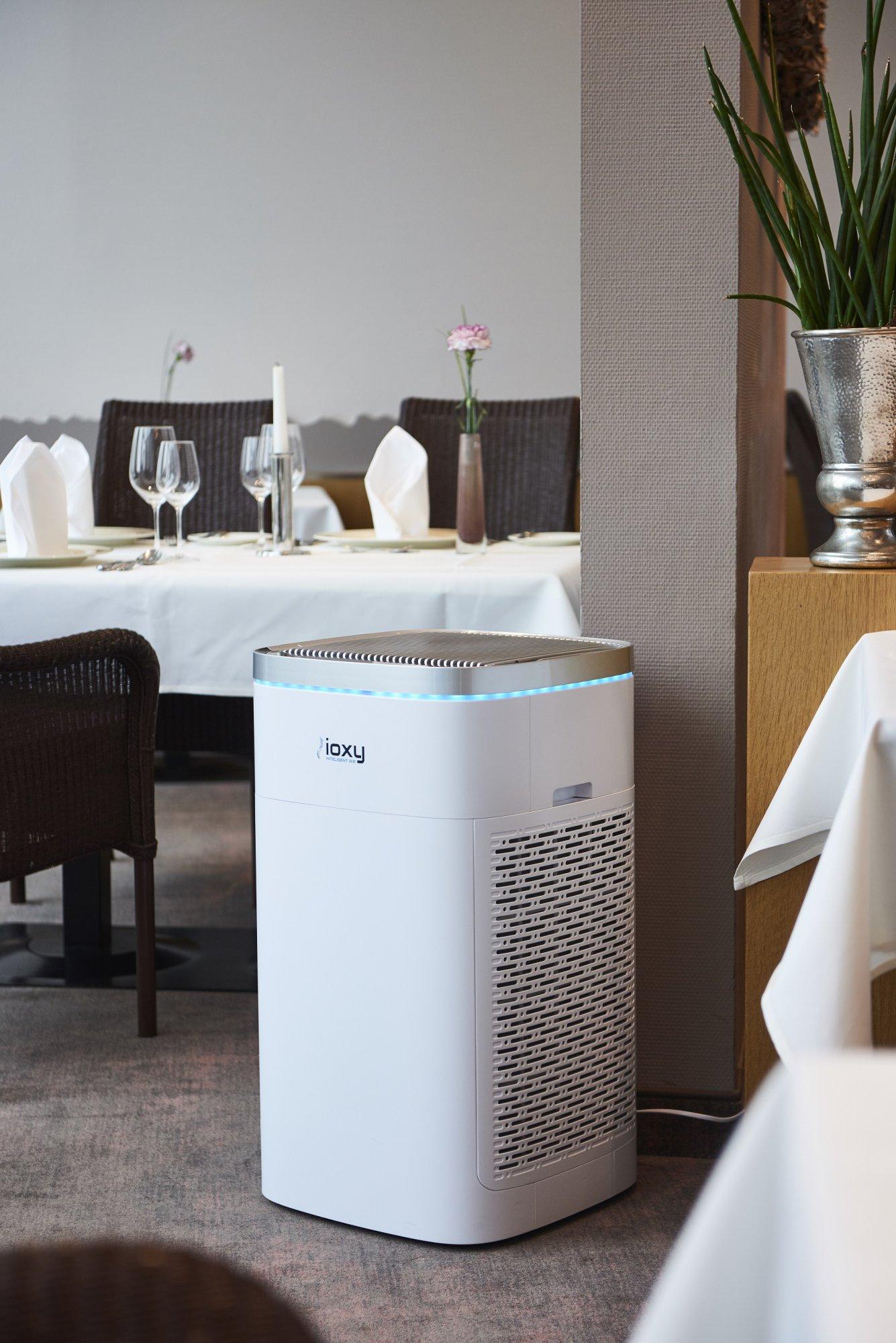 Luftreiniger ioxy Pro im Hotel Heinz